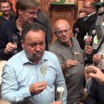 11éme poireaux folies avec Monsieur le Ministre Maire Frédéric Cuvillier