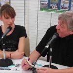 Katia MOLLET au Village Grand Public du Grand Prix d'Isbergues 2015