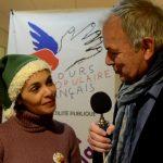 Interview de Madame Saïda JAWAD Actrice Metteur en scène et Marraine du Secours Populaire Français
