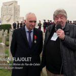 ITW André FLAJOLET – Centenaire Bataille de la Lys – Richebourg – 09/04/2018