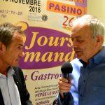 """Interview Philippe MIX – Présentation """"Les 3 Jours Gourmands"""" – Saint-Amand-les-Eaux"""
