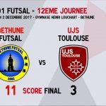 ITW Thierry TASSEZ – 12ème Journée Futsal Division 1 – Béthune – 02/12/2017